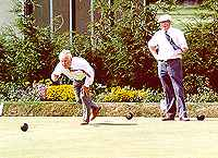 Bowls being played in Essex